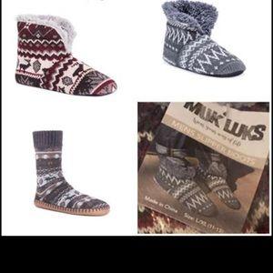 Slipper Boots Men's NWT ✨